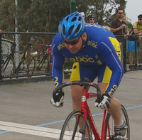 carl sprinting at the bsss practice day