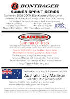 blackburn 2008-2009 track flyer